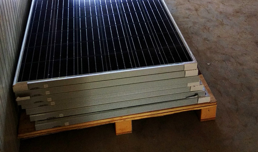 Management of Antimony Containing Solar PV Glass