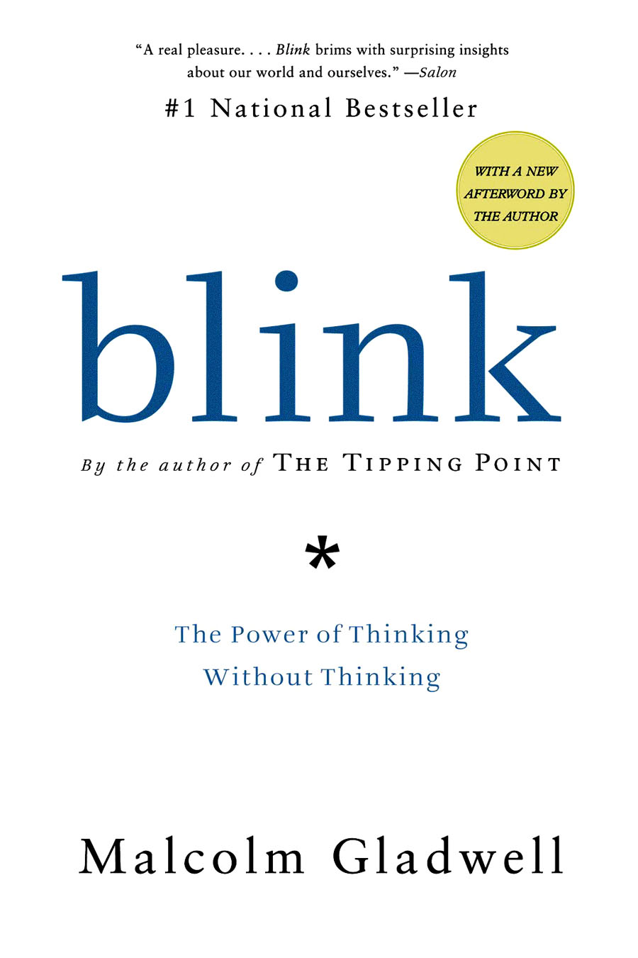 Blink by Malcolm Gladwell: Explore 20th-century in stories